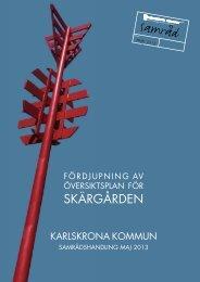 Kapitel 1_Utgångspunkter, pdf, 1 MB - Karlskrona kommun