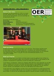 Nieuwsbrief november 2011 - Stichting OER