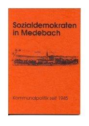 ohne Fotos (ca. 600 KByte) - SPD Ortsverein Medebach