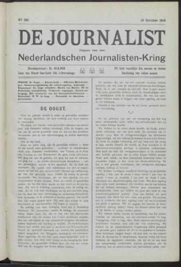 Nederlandschen Journalisten-Kring