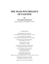 The Mass Psychology of Fascism - Anxiety Depression Self-Help