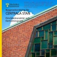 CENTRALA STAN - Skellefteå kommun bloggar