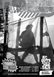 Kontactje 2011-2012 nr01 - Scouts en gidsen De Pinte