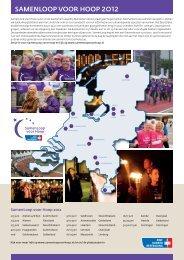 SamenLoop voor Hoop 2012 (pdf) - Repository