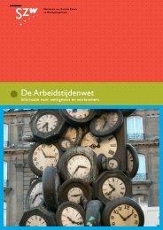 De Arbeidstijdenwet - Vrijwilligerswerk.nl