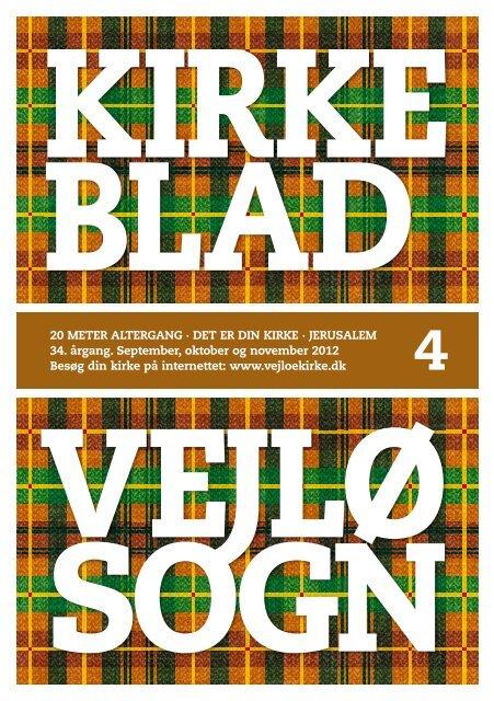 Kirkeblad 4 - september, oktober og november 2012 - Vejlø Kirke