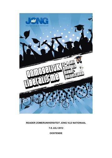 reader zomeruniversiteit jong vld nationaal 7-8 ... - Enzu - Jong VLD