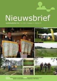 Nieuwsbrief Juni 2012 - Landschapsbeheer Oss