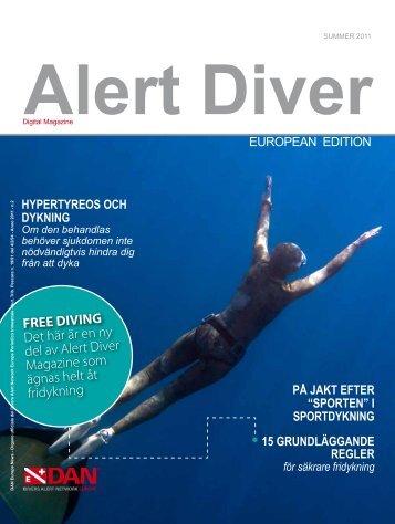 FREE DIVING Det här är en ny del av Alert Diver ... - DAN Europe
