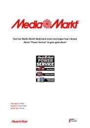 Hoe kan Media Markt Nederland ervan ... - Battle of Concepts