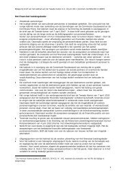Sociaal akkoord Brief Tweede Kamer 10 juni - ftk - FNV Horeca