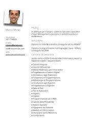 Curriculum - Marco Mulas