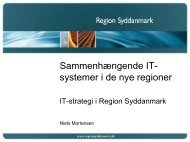 IT-strategi i Region Syddanmark - EPJ-Observatoriet