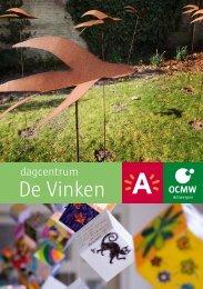 Brochure De Vinken ( pdf , 1.73 MB) - OCMW Antwerpen