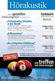 Seminare - Median-Verlag
