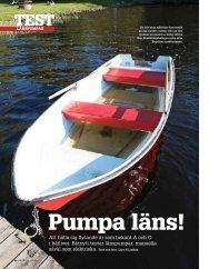 Båtnytt 6 2013 test av länspumpar - Länsman