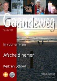 Gaandeweg november 2009 - Protestantse Gemeente Zwolle