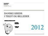 Danske Kreds i tekst og billeder 2012 opdateret ... - Finansforbundet
