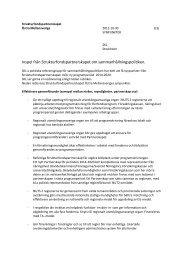 Inspel från Strukturfondspartnerskapet om sammanhållningspolitiken.