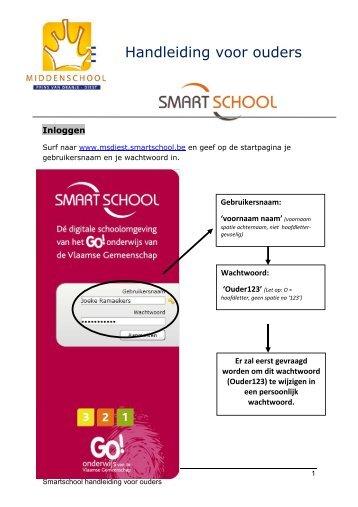 Smartschool handleiding voor ouders