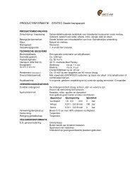 SYNTEC Sealer transparant - Multiplaat Werkendam