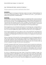 Aarhus Byråds møde onsdag d. 10. oktober 2012 1 Sag 1 ...