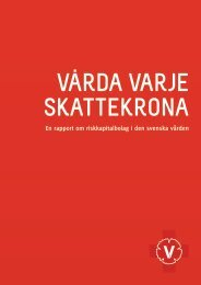 En rapport om riskkapitalbolag i den svenska vården - Vänsterpartiet ...