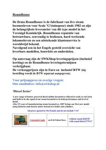 Page 4 valve roundhouse de firma roundhouse is de fabrikant swkshop ccuart Image collections