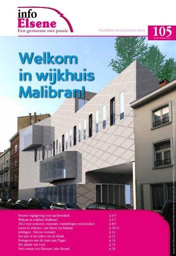Welkom in wijkhuis Malibran! - Elsene