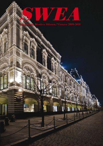 Magasinet Moskva Hösten/Vintern 2009-2010 - SWEA International