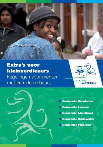 Folder extra's voor kleinverdieners - Gemeente Woerden