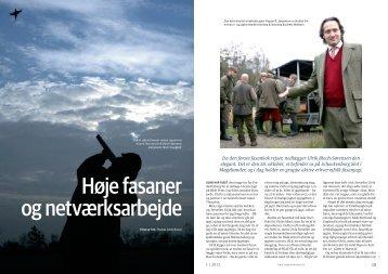 Artikel i JÆGER Januar 2012, af Thomas Lindy Nissen (Se PDF)