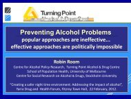 Alcohol policy: issues and challenges for the WHO European Region ...