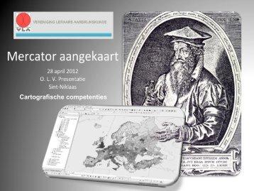 Cartografische competenties - VLA