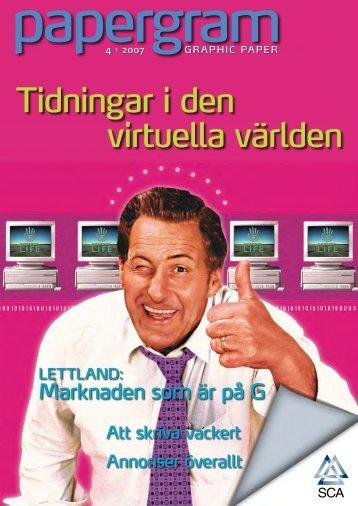 Tidningar i den virtuella världen - SCA