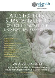 28. & 29. Juni 2013 - Universität Wien