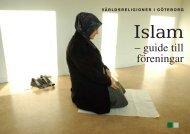 Islam - guide till föreningar - Islamguiden