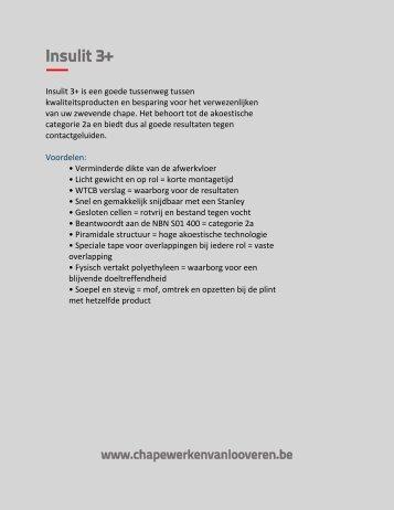 Download productfiche - Chapewerken Van Looveren