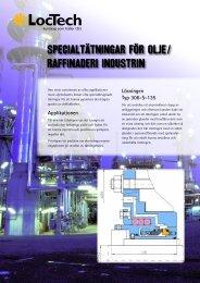 Specialtätningar för olje/ raffinaderi industrin - LocTech
