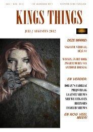 juli / augustus - Stephen King Fanclub Nederland