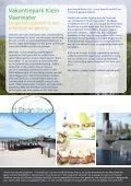 Beleef het samen op Ameland - Vakantiepark Klein Vaarwater - Page 3