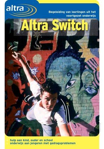 Voor wie is Altra Switch? - Jeugdhulpwijzer