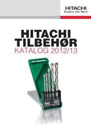 KATALOG 2012/13 - Hitachi Power Tools AS