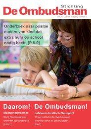 Magazine juni 2011 - De Ombudsman