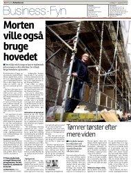 Morten ville også bruge hovedet - Syddansk Erhvervsskole