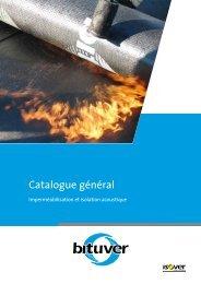 Catalogue général - Bituver