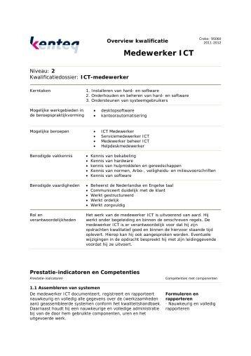 Medewerker ICT - Kenteq