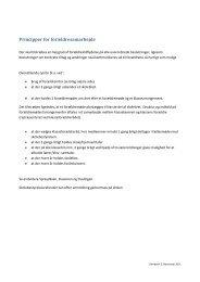 Principper for forældresamarbejde - Tylstrup skole, Aalborg