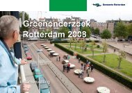 Groenonderzoek Rotterdam 2008 - Polderdag Rhoon