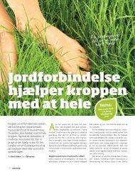 Earthing artikel i bladet Naturli - Qliving.com